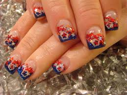 Fourth Of July Hairstyles Fourth Of July Nail Designs Pccala