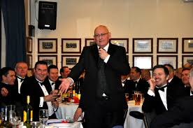 ccfpa s billy bell dispenses humour to the tables