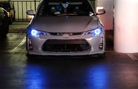 2014 Scion Tc Lights Ijdmtoy 2 7 Color Rgb Led Angel Eye Halo Rings W Wireless Remote For 2014 2016 Scion Tc Projector Headlight Retrofit