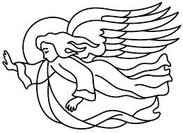 Small Picture Printable Coloring Pages Of Angels Coloring Coloring Pages
