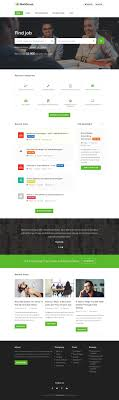 best html job board website templates responsive miracle workscout html5 job board website templates