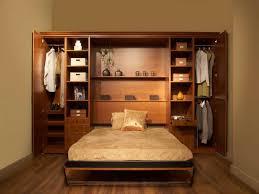 queen size murphy bed wood