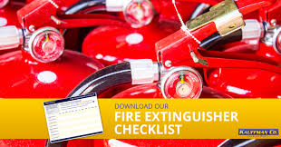 Portable fire extinguisher inspection is extremely important for the protection of businesses and homes — especially since osha and fire codes require specific procedures when it comes to. Fire Extinguisher Checklist Free Download Office Fire Safety