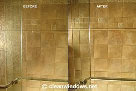 remove hard water stains on shower doors spots glass how to get off car