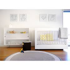 spot on square roh crib two sided acrylic  white  kindred