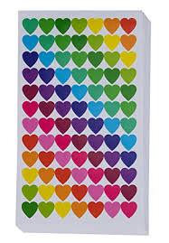Heart Stickers 36 Sheet Small Heart Shape Labels For Valentines Day Card Scrapbooking Party Favors Self Adhesive Labels 13 Assorted Colors