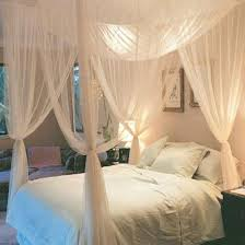 Baby crib netting 4pot bed canopy cornert pointed bug insect misquito net mesh curtain bedroom adult size