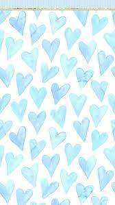 Cute Blue Heart Wallpapers - Top Free ...
