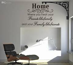 home family friends spiritual wall quote decal decor sticker lettering saying vinyl wall art stickers decals girl wall decals girl wall stickers from  on wall art vinyl decals with home family friends spiritual wall quote decal decor sticker