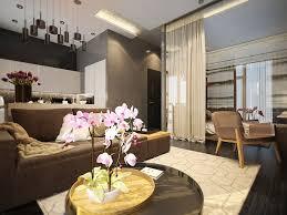 Home Designs: One Room Apartment Living TV - Studio Apartment