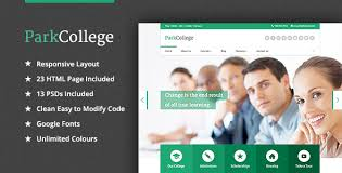 College Templates 35 Best Education Responsive Html Templates For