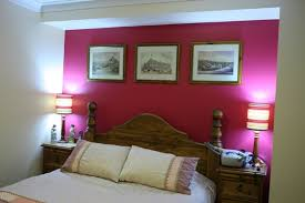 Perfect Amazing Of Two Colour Combination For Bedroom Walls Hot Pink Accent Wall  With White Paint Color For Small Bedroom