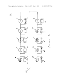 series wired led light string unidirectional shunts diagram series wired led light string unidirectional shunts diagram schematic and image 03