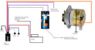 how to replace the original prestolite alternator by a new 1 wire new wiring jpg views 8834 size