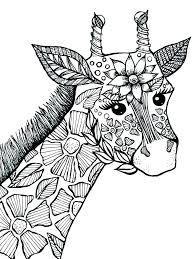 Giraffe Coloring Pages Printable Giraffe Printable Baby Giraffe