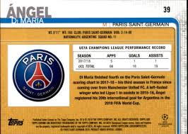 champions league chart 2018 details about 2018 19 topps chrome uefa champions league soccer your choice gotbaseballcards