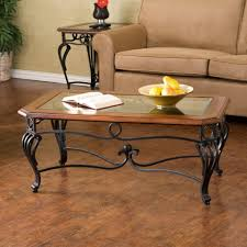Iron Coffee Table Base Furniture Dazzling Coffee Table Design With Glass In Wood Frame