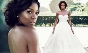 Gabrielle Union Wedding Dress Designer Gabrielle Union Shares Stunning Never Before Seen Wedding