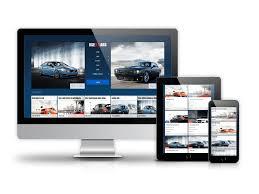 Car Template Car Catalog Automotive Website Template