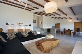 polished concrete floor in house. Inspiring Modern Home Design Using Polished Concrete Floor 2 In House