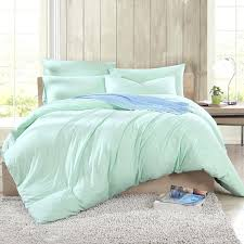 light teal bedding light teal comforter cotton knit pure color light green duvet cover comforter sets