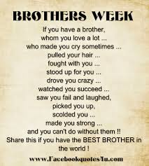 Best Quotes About Brother
