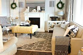 living room with white electric fireplace