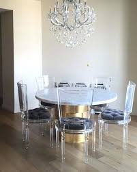 acrylic dining room chairs. Acrylic Dining Room Table Chairs Chair Used Gorgeous Ghost . C