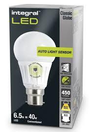 dusk to dawn light bulbs sensor lamp led 40 60w equivalent integral within lights designs 9