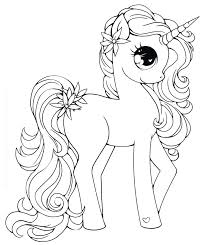 unicorn coloring pages for kids colouring unicorn coloring pages