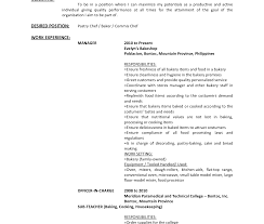 Resume For Bakery Worker Production Worker Resume Job Resume Social