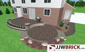 brick paver patio designs collection in brick patio ideas raised brick patio design amp installation chesterfield