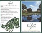 Pecan Valley GC - Actual Scorecard   Course Database