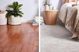 carpet vs hardwood flooring which is
