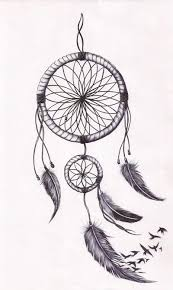 Simple Dream Catcher Tattoos Awesome Simple Dreamcatcher Outline Dreamcatcher Tattoos Pinterest