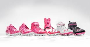 under armour breast cancer. under armour power in pink cleats for breast cancer awareness