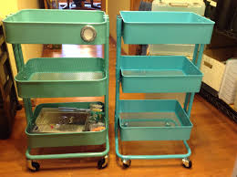 Scrapbook Organization: Ikea Raskog Cart vs Sam's Club Knock-Off {and One  Other