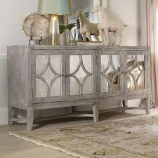 wood and mirrored furniture. hooker furniture melange brown console table wood and mirrored s