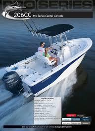 206cc specs - Sea Fox Boats - PDF Catalogues | Documentation ...