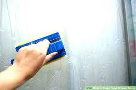 swinging glass shower door cleaner clean shower doors cleaning shower doors image titled clean glass shower doors step 9 cleaning glass glass shower door