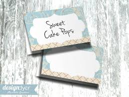 Printable Tent Card Blue Sweet Baby Boy Collection Instant Download