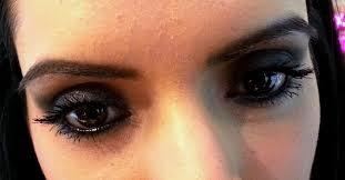 night time smokey eye makeup look