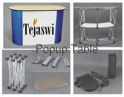 Pop Up Display Stands India Tejaswi Portable Stall Setup Portable Display Stands Pop up 23