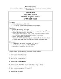 Nanny Resumes. sample nanny resume template 6 free documents ...