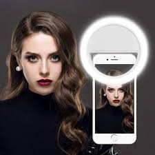 Soft Selfie Light Tos Rechargeable Double Bright Soft Selfie Ring Amazon In