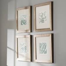 >4 piece wall art birch lane centennial framed graphic art set set of 4