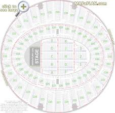 The Forum Inglewood Seat Numbers Detailed Seating Chart La