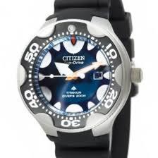 citizen eco drive professional diver 200m titanium watch bn0016 04l