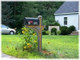 mailbox post plans. Fine Mailbox Building A Mailbox Post Double Plans Wooden  And E