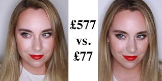 one of these makeup looks cost 500 more than the other can you tell which